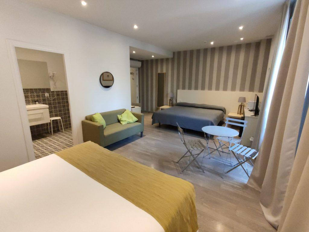 Habitacion 306 camas
