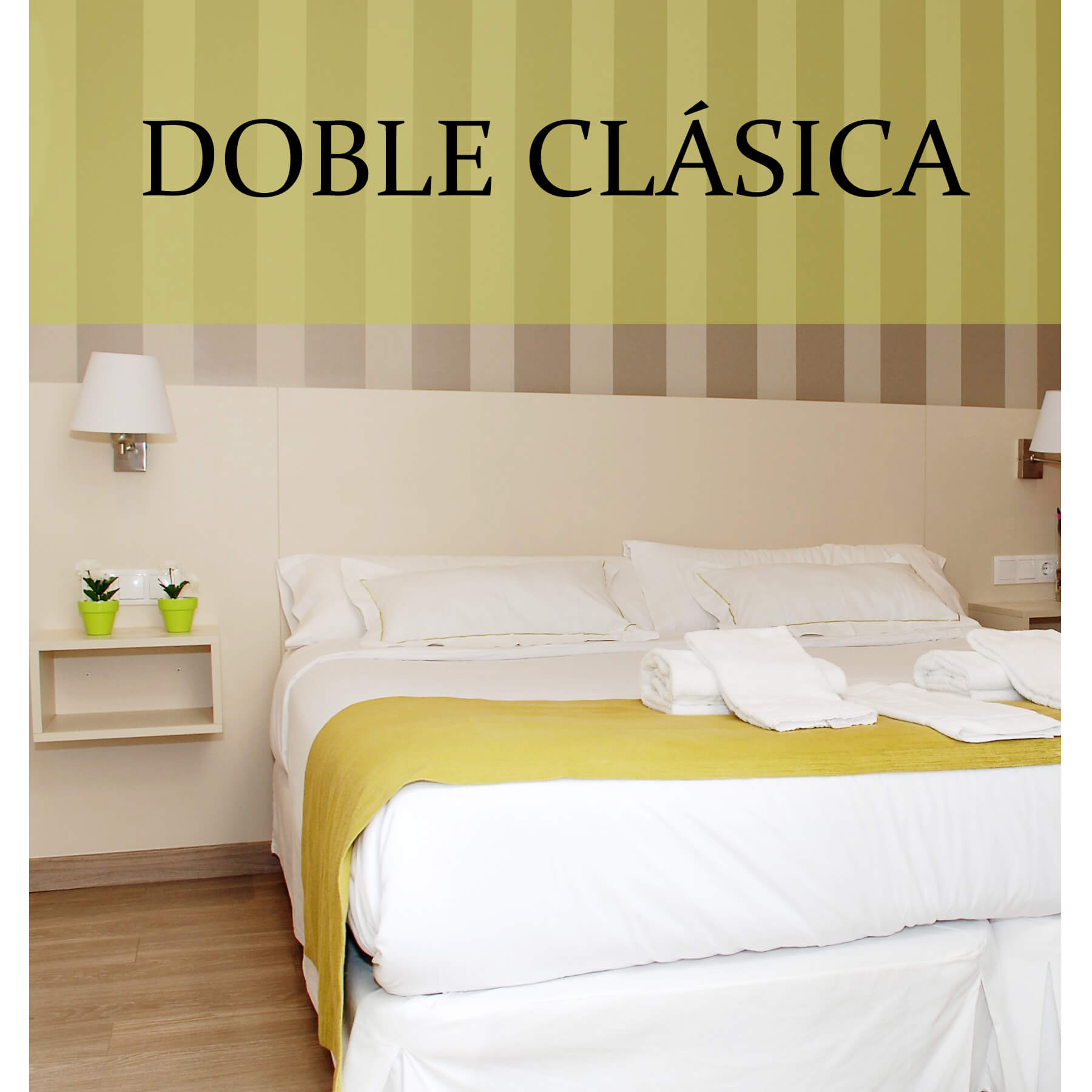 Habitación doble clásica