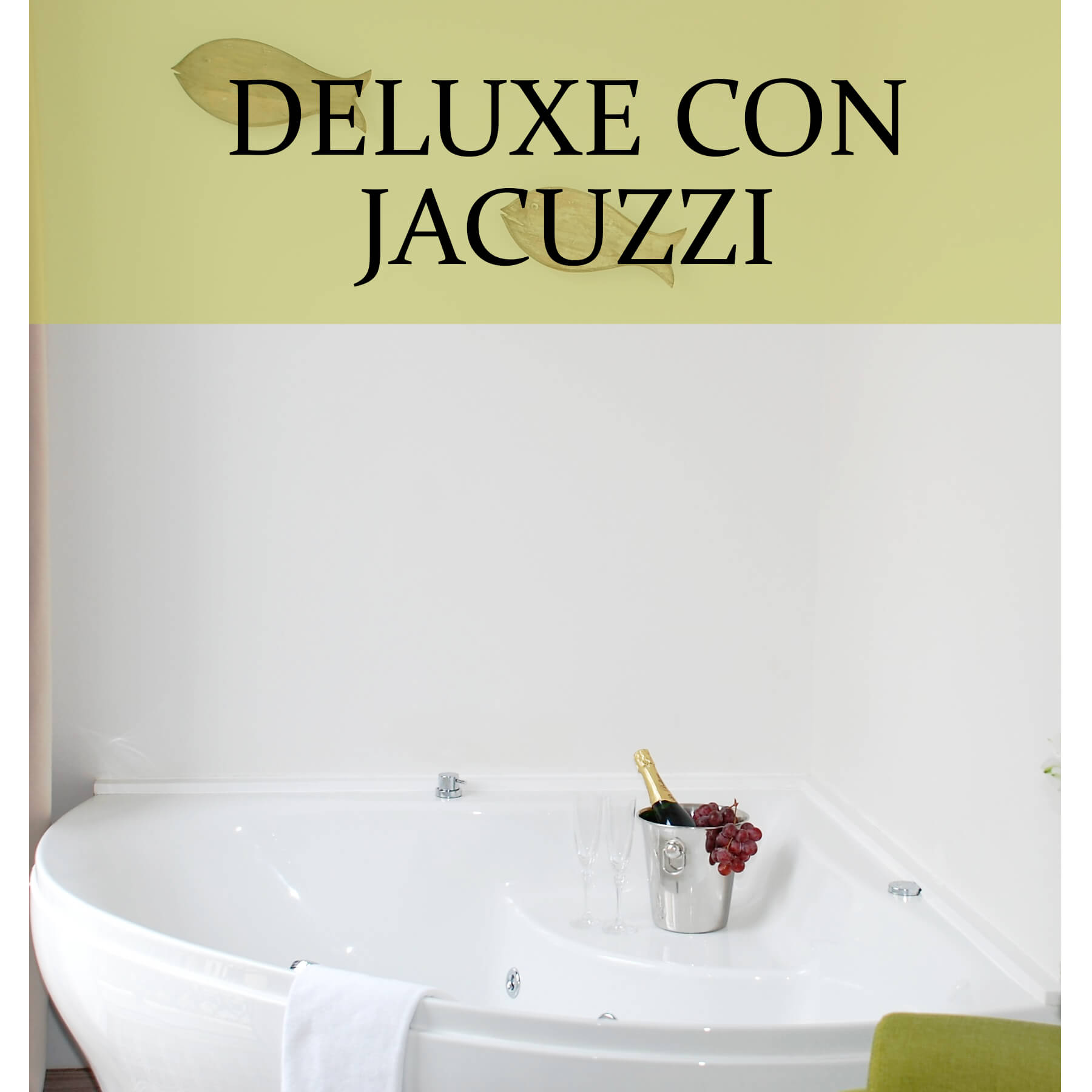 Habitación deluxe con jacuzzi